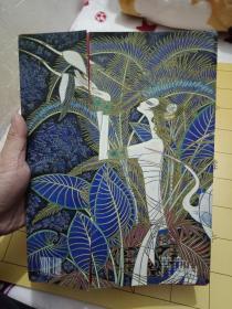 《和平曲-丁绍光作品集书标(8张全)16开》《中国书标——百年中国女性形象 (共8张)》书品如图    稀缺艺术品