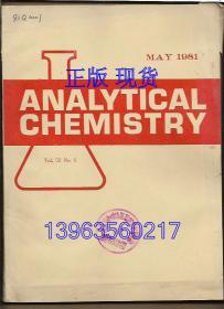 ANALYTICAL CHEMISTRY 1981.6
