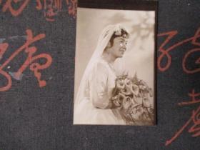 老照片:黑白结婚照