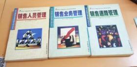 派力销售经理管理实战丛书:销售人员管理/销售业务管理/销售通路管理(3本合售)