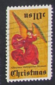 美国邮票-----1974年圣诞节(信销票)