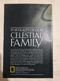 National Geographic国家地理杂志地图系列之1990年8月 Potraits of Our Celestial Family