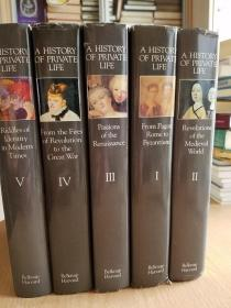 History of Private Life: Five Volume Set