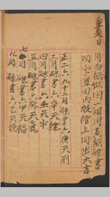 北田庆 验方记择, 1923 中医,药方类书籍。118页,抄本,字迹见截图。