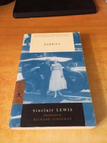 Babbitt Sinclair LEWIS(巴比特·辛克莱·刘易斯.原版英文)