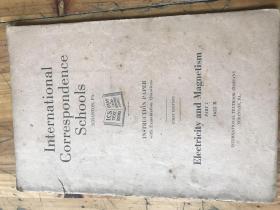 2290:1915年《INTERNATIONAL CORRESPONDENCE SCHOOIS  INSTRUCTION PAPER WITH EXAMINATION QUESTIONS 》国际函授教学手册 带试题