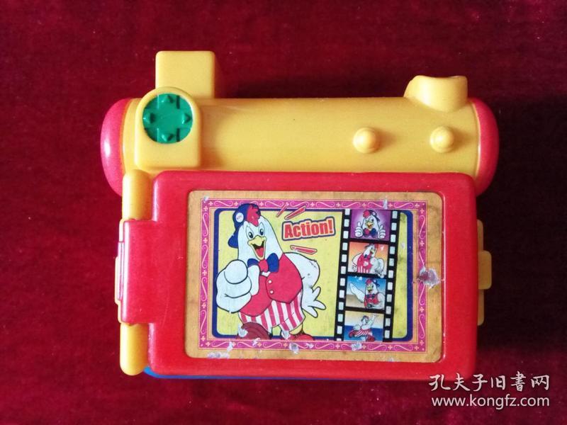 肯德基KFC早期可以看万花筒幻灯片的玩具