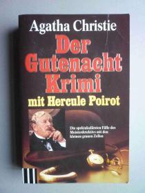 Der Gutenacht Krimi--mit Hercule Poirot(外文原版书)