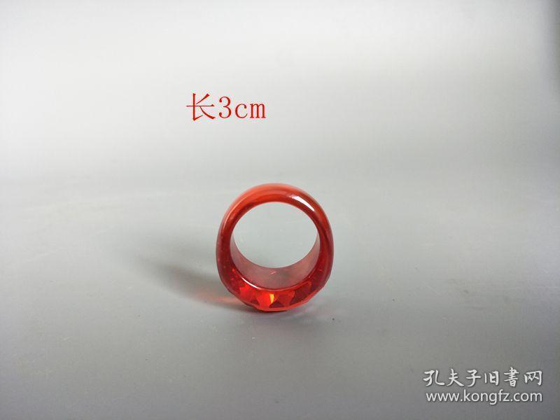 乡下收的红宝石戒指