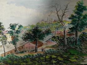 家门口的风景;鸡鸣寺.