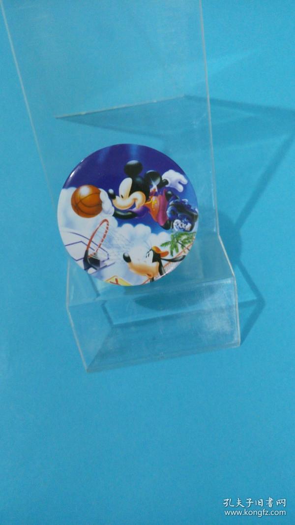 米老鼠、布鲁托狗篮球赛(迪士尼动漫徽章)