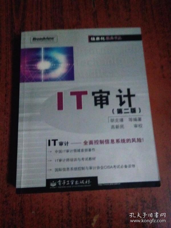 IT审计(第二版)——信息化经典书丛