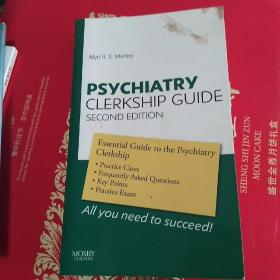 psychiatry clerkship guide second edition