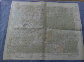 老地图  张镇(8-51-87-甲)中国人民解放军第二军医大学教育用图