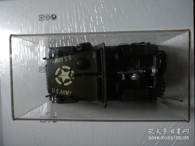 二战美国JEEP车模型