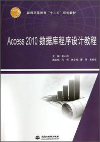 ACCESS 2010 数据库程序设计教程