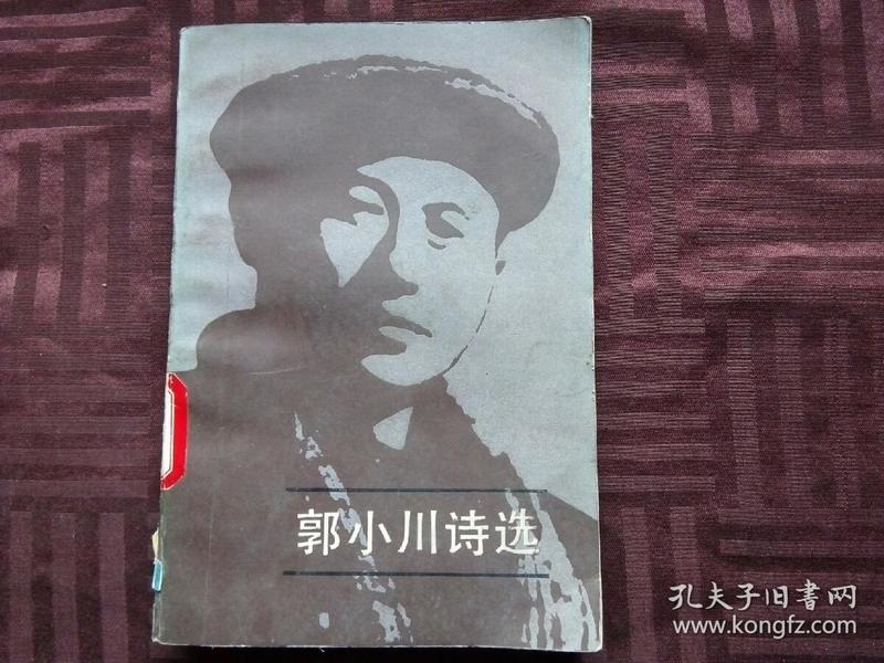 郭小川诗选  上册
