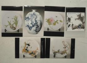 现代陶瓷艺术作品照片六张
