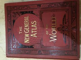 The New General Atlas of The World 1902年 精美的地图集  8开
