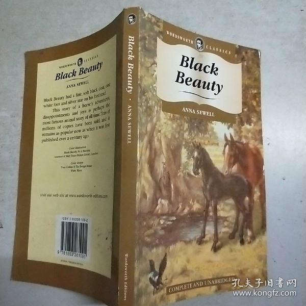 (英文原版)black beauty(32开)