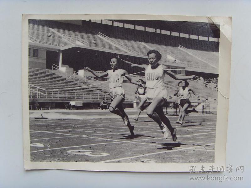 老照片:【※1960年,四川选手刘兴玉,获女子百米冠军※】