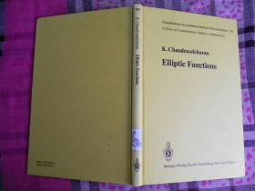 Elliptic Functions 精装原版