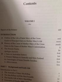 THE LIFE OF SAINT MARY OF THE CROSS,MARY MACKILLOP 1842-1909 ②