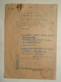 革委会成员任免呈报表及材料(16)