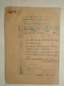 革委会成员任免呈报表及材料(15)