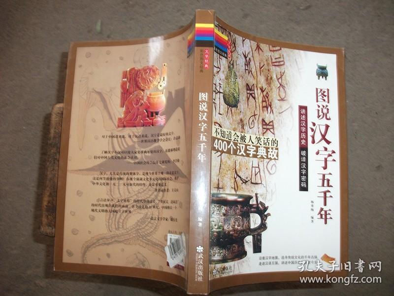 图说汉字五千年---讲述汉字历史,破译汉字密码