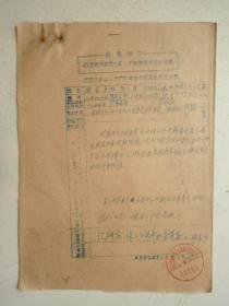 革委会成员任免呈报表及材料(10)