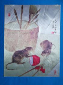 《无名》绘画 非常逼真【2】 材质不知是丝绸还是化纤50x39.5