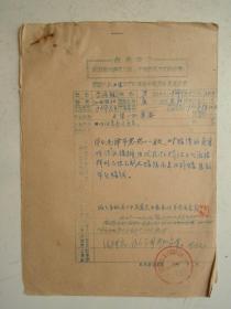 革委会成员任免呈报表及材料(8)