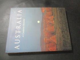 AUSTRALIA A Continent Revealed【8开原版精装画册:《澳大利亚大陆的发现》  8开精装