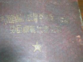 老笔记本 齐市首届人民 警 察 治 保会委员功臣模范代表会议