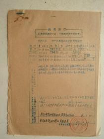 革委会成员任免呈报表及材料(6)
