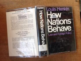 How Nations Behave:law and foreign policy【精装】