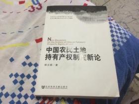 中国农民土地持有产权制度新论