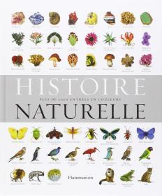 Histoire naturelle : Plus de 5000 entrées en couleurs (塑封全新)