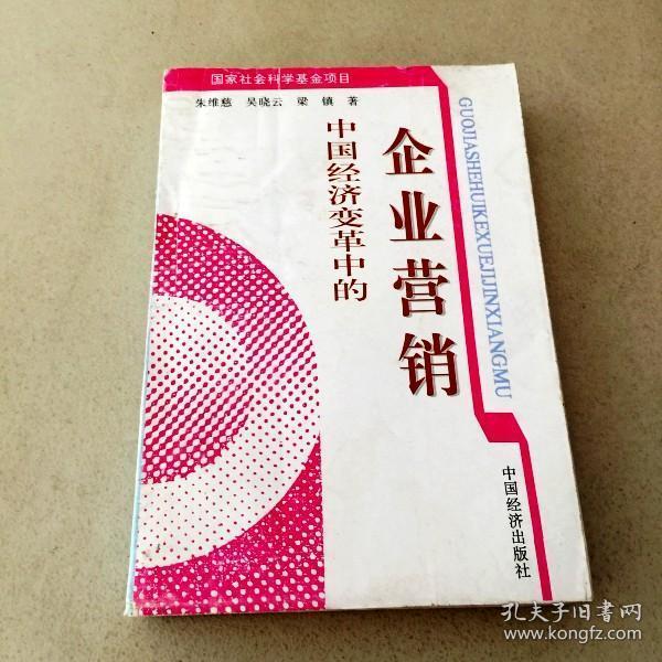 di213266 中国经济变革中的企业营销 (一版一印)图片