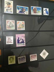 外国信销邮票合集  品相不错 美国  荷兰  韩国等