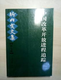 竹内实文集.第七卷.中国改革开放进程追踪