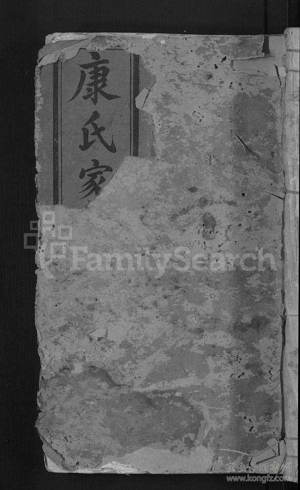 棑溪康氏族谱 [10卷]