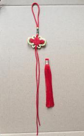 五帝钱挂绳 富贵结挂绳和七彩须流苏穗子 中国结挂绳配件,可以穿字钱等物品,做挂件、车饰