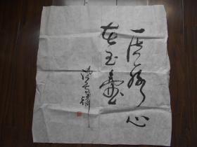 金陵篆刻家【陈图麟,书法作品】一片冰心在玉壶