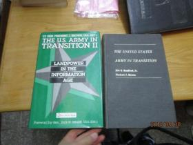 THE UNITED STATES ARMY IN TRANSITION 1.2(2册合售)