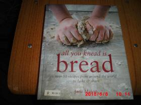 all you knead is BREAD over 50 recipes from around the world to bake share (英文原版,彩图,精装)
