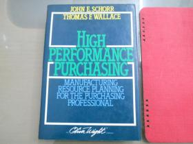 HIGH PERFORMANCE PURCHASING