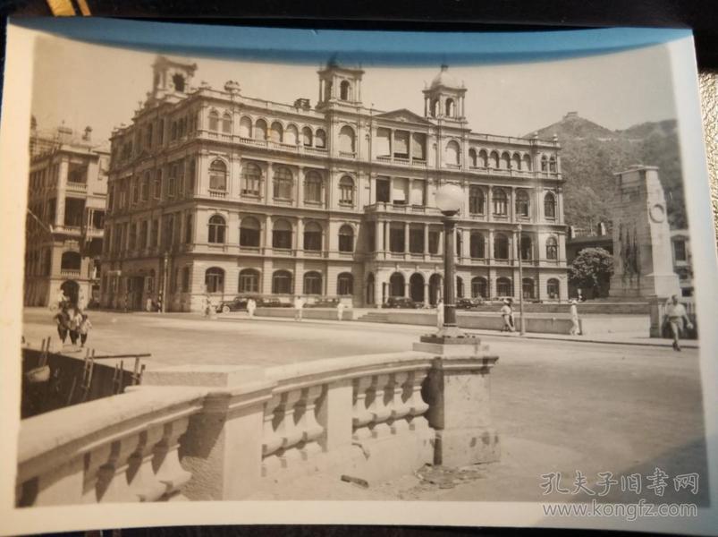 民国香港中环香港会俱乐部建筑物老照片