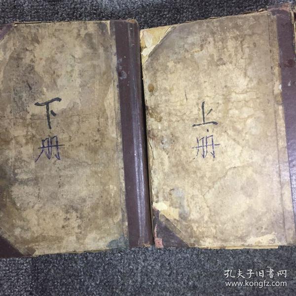 中国药学大辞典,中国药物标本图影(上下两册全精装本)民国二十四年原版